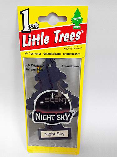 Елочка Little trees Night Sky
